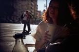 Girl Drinking Chai Film Photography