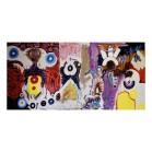 6. Mixed Media Abstract Painting